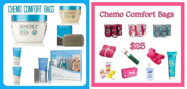 Chemo Comfort Bags Together
